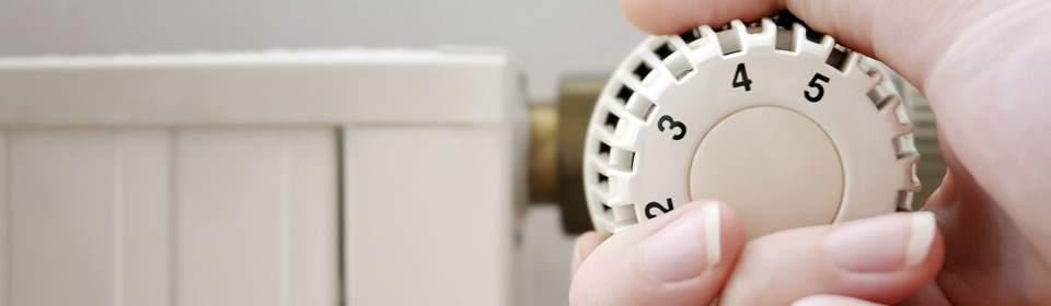CV installatie radiator